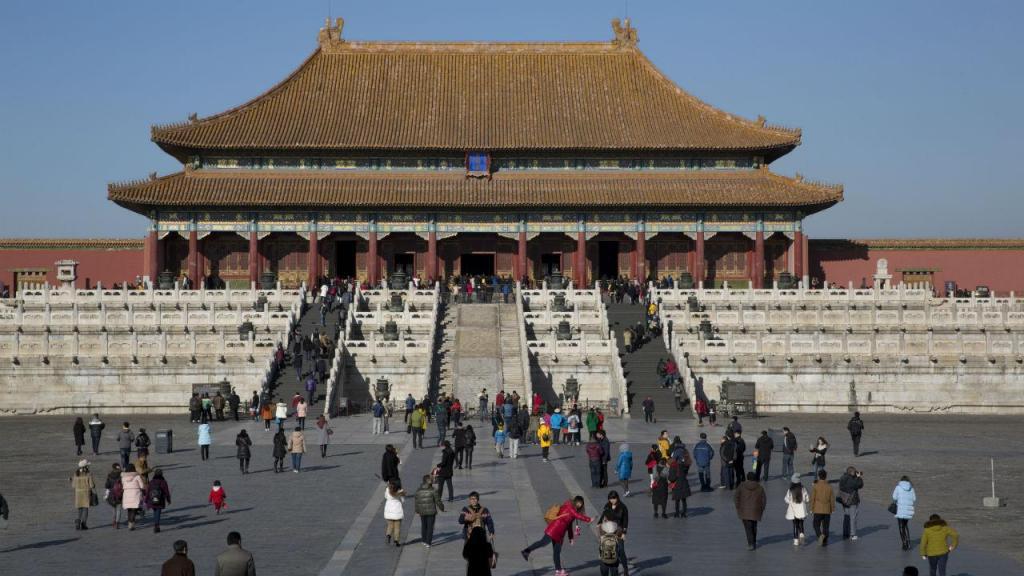 Cidade Proibida, em Pequim, na China