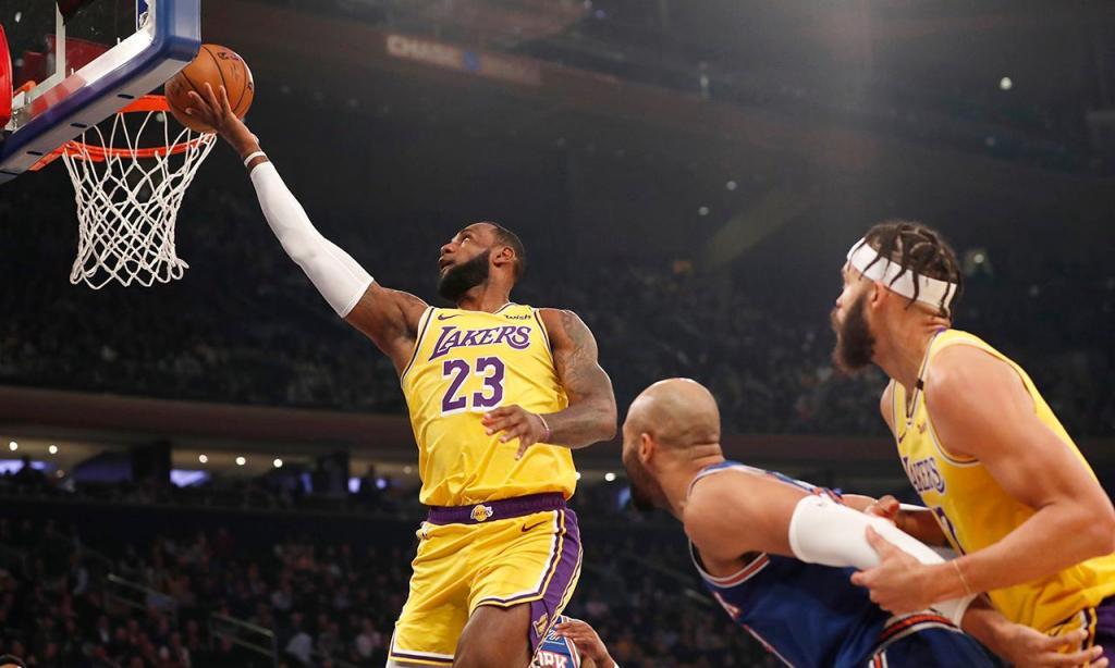New York Knicks-LA Lakers