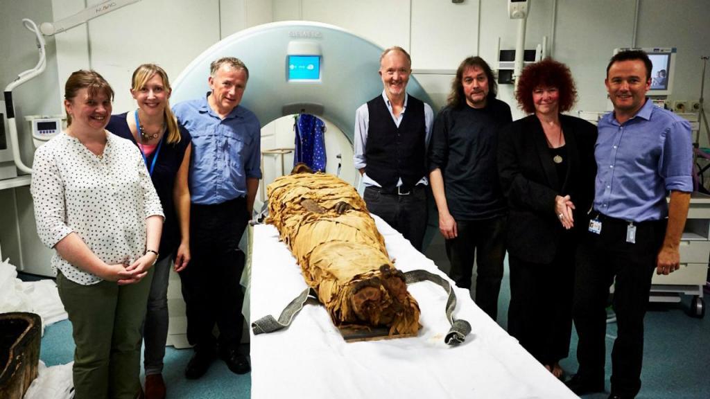 Cientistas recriam voz de múmia com três mil anos
