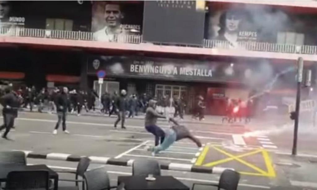 Violência no Mestalla