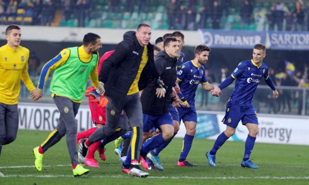 Verona bateu Lecce