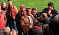 André Horta no Estádio Capital do Móvel a ver o Paços-Benfica (Twitter)