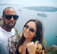 Kathia Abreu, namorada de Wilson Eduardo