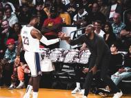 LeBron James e Kobe Bryant