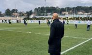 Miguel Cardoso visita Villas-Boas em Marselha