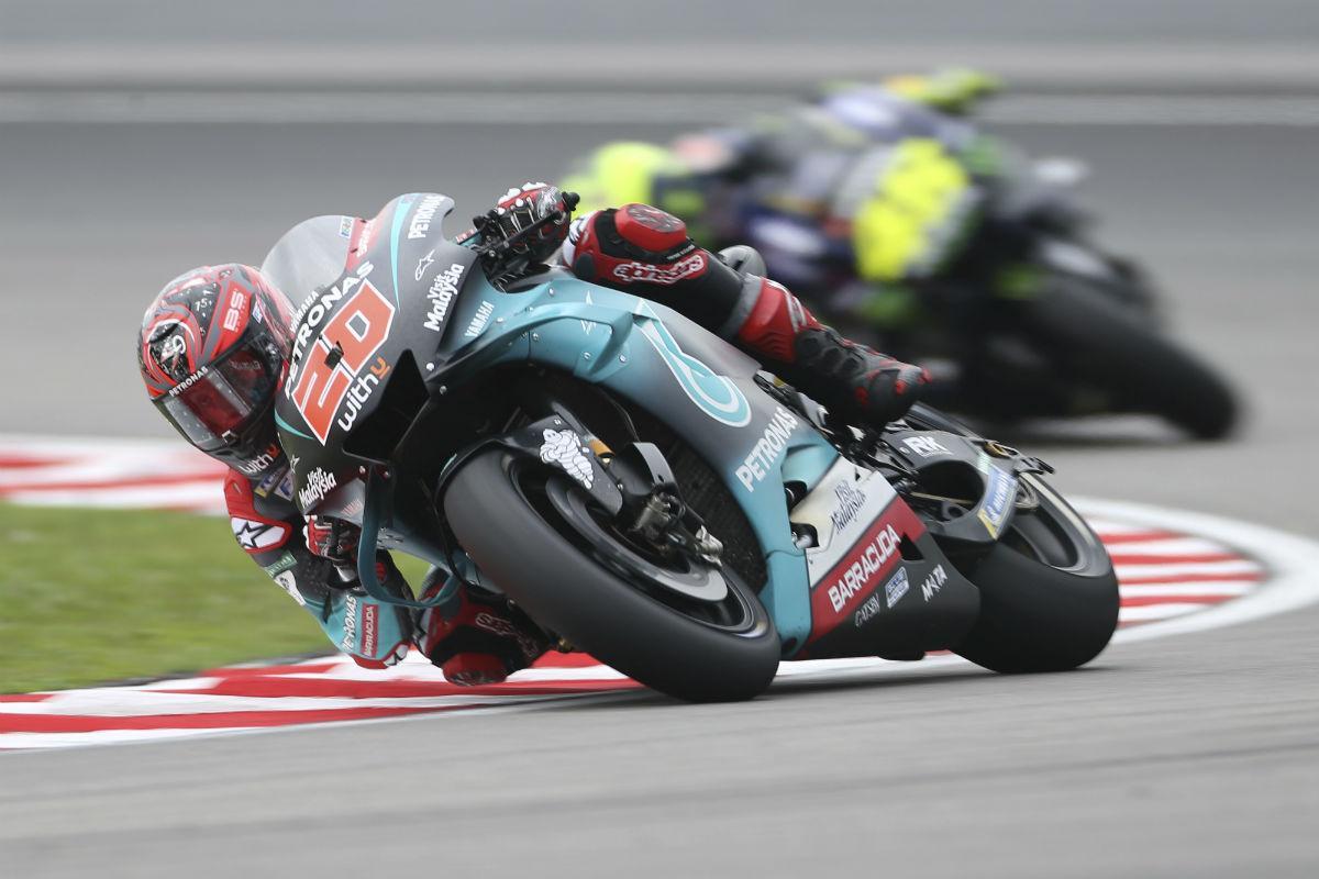Fabio Quartararo e Valentino Rossi (Associated Press)