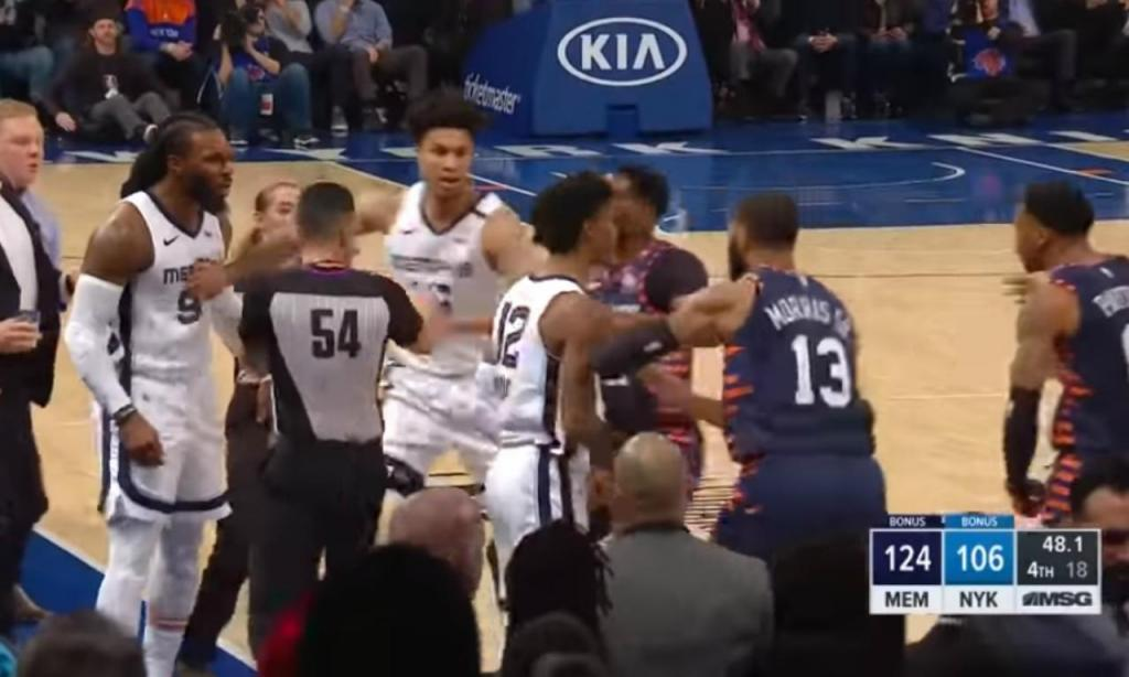 New York Knicks e Memphis Grizzlies