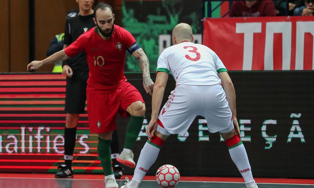 Futsal: Portugal-Bielorrússia
