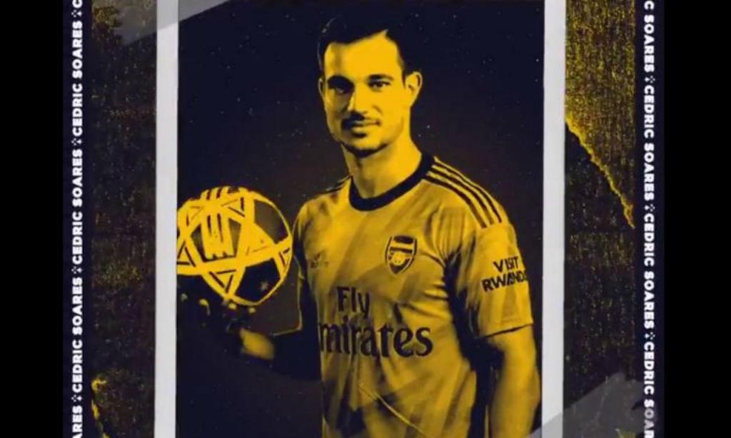 Cédric no Arsenal