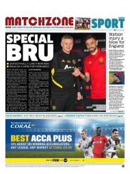 Bruno Fernandes em destaque na imprensa inglesa