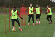 Primeiro treino de Bruno Fernandes no Manchester United