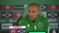 «Podemos fazer coisas que com o Bruno Fernandes não podíamos»