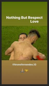 Podence e Bruno Fernandes (foto Instagram)