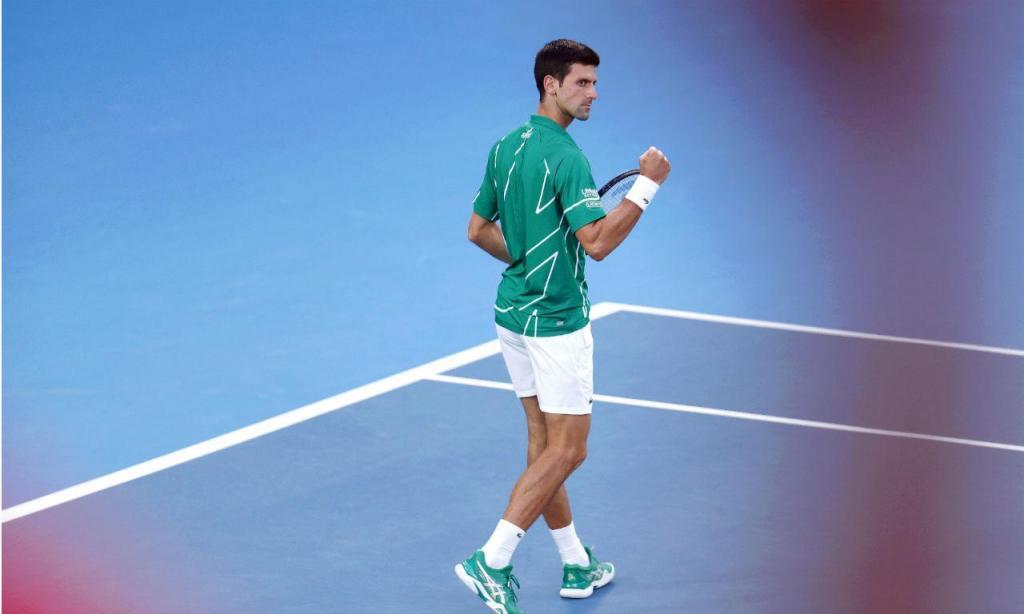 Djokovic bateu Thiem na final do Open da Austrália