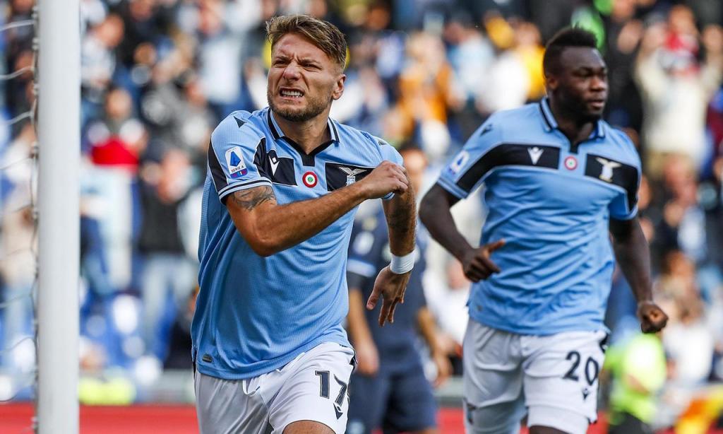 1) Ciro Immobile (Lazio): 36 golos, 72 pontos