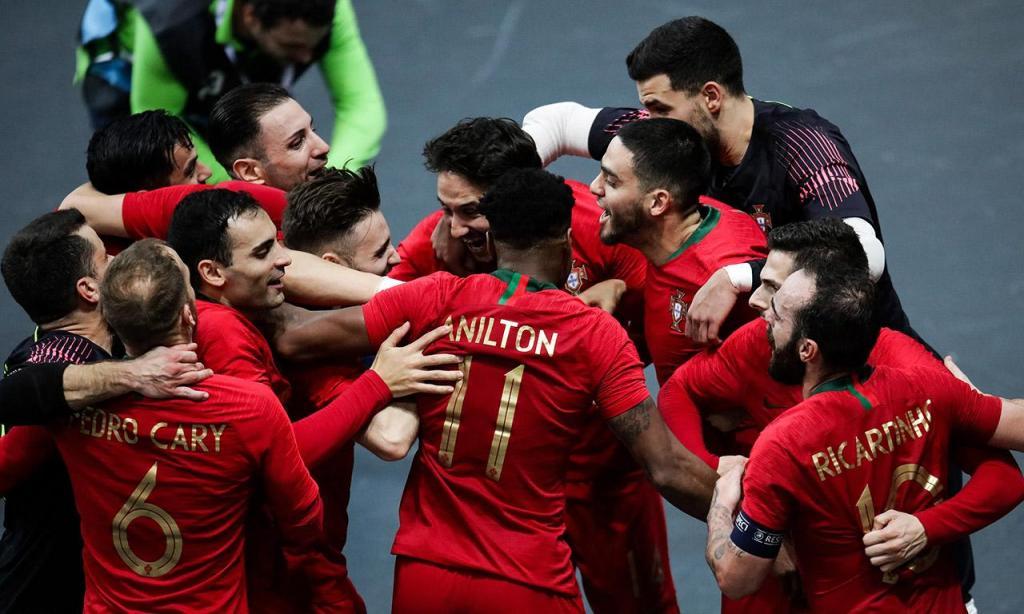 Futsal: Itália-Portugal