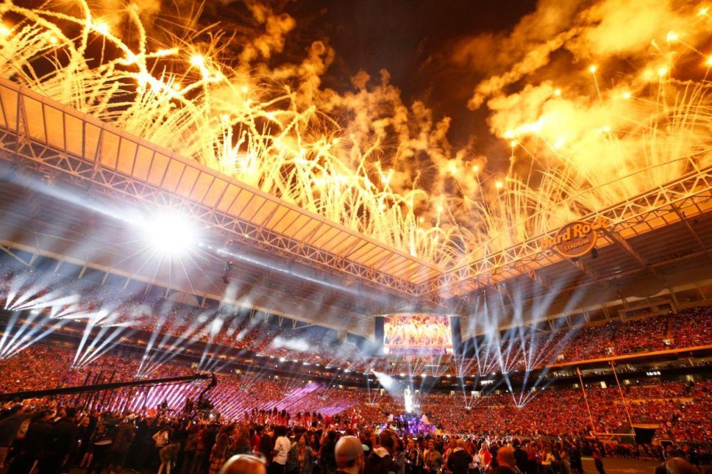 Shakira e Jennifer Lopez atuam no intervalo do Super Bowl