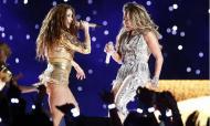 JLo e Shakira «aqueceram» o Super Bowl (EPA)