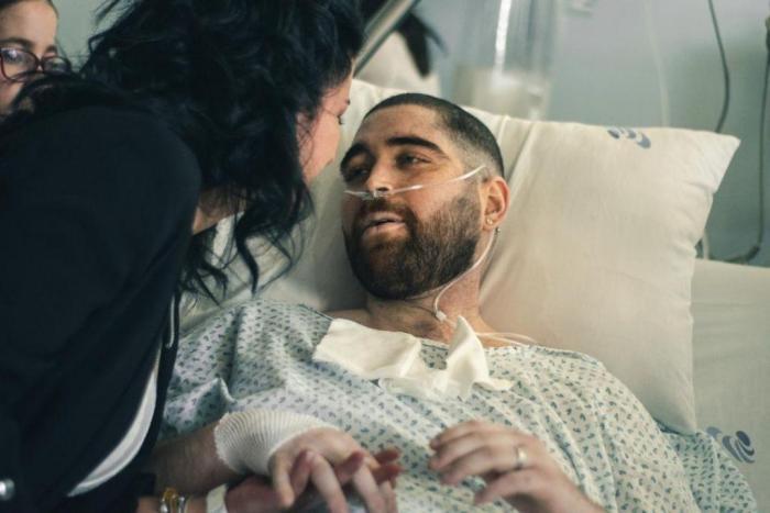 O casamento de Hugo e Ângela no hospital