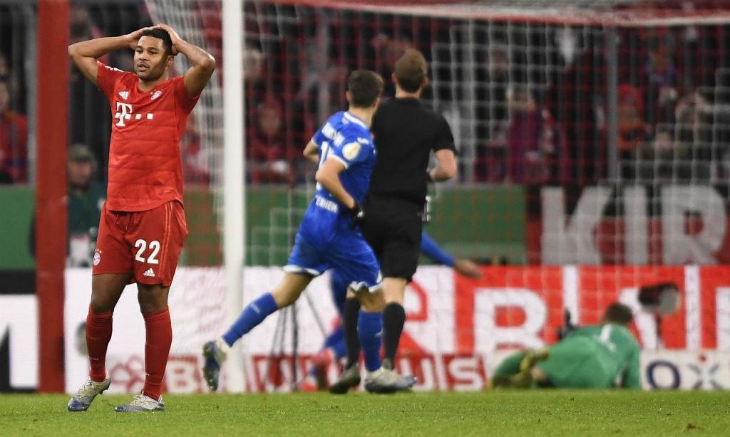 Hoffenheim ainda fez tremer o Bayern