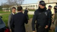 Varandas com proteção policial em Monsanto