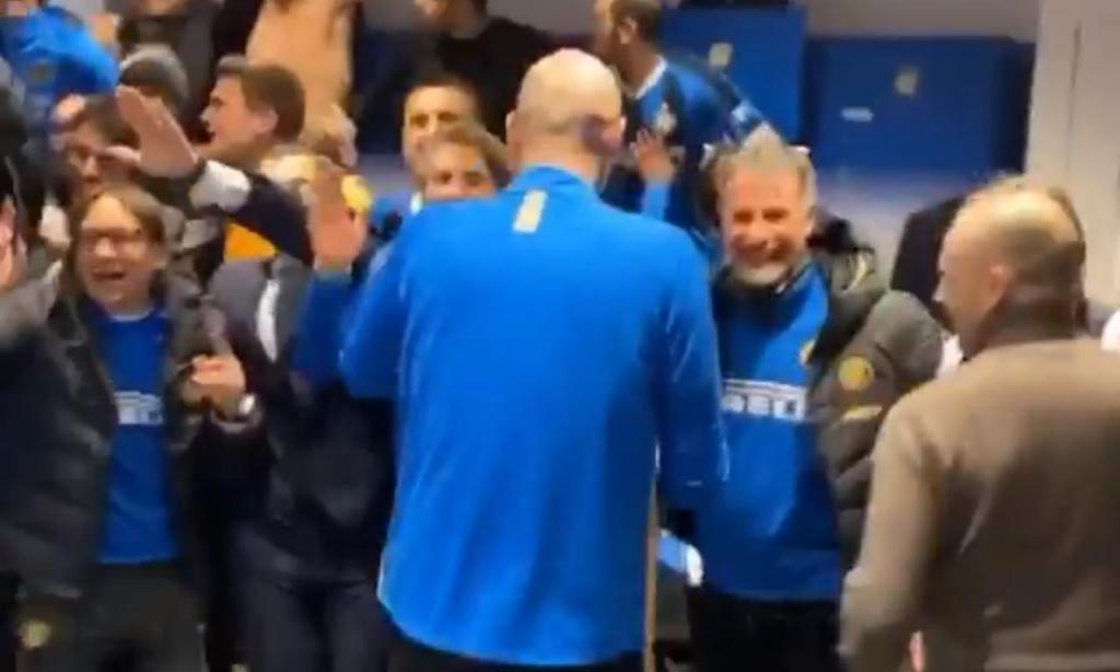 Festa no balneário do Inter (foto Instagram)