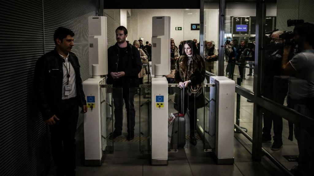 SEF no Aeroporto de Lisboa
