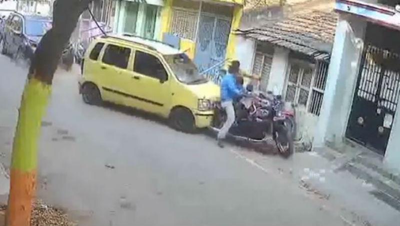 Acidente na Índia (Reprodução Youtube)