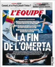 L Équipe abusos sexuais em França