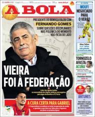 Revista de imprensa de 14 de fevereiro de 2020