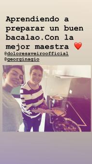Georgina Rodríguez e Dolores Aveiro (foto Instagram)