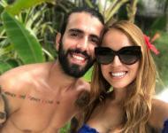 Sérgio Oliveira e a mulher Cristiana Pereira