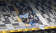 Adeptos do Belenenses no Estádio do Bessa (RJC)