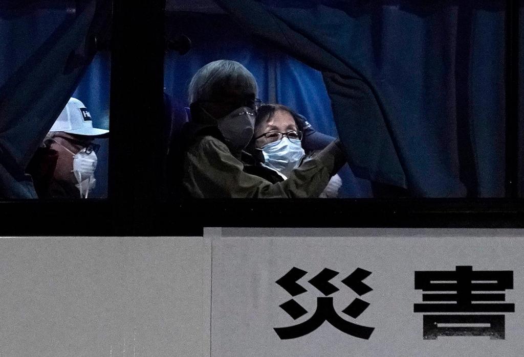 Americanos retirados do cruzeiro Diamond Princess no Japão
