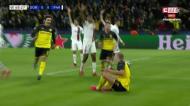 VÍDEO: Dortmund marca frente ao PSG pelo suspeito do costume