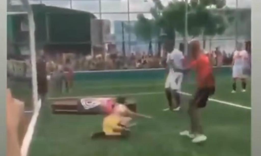 Morto marcou um golo (foto Instagram)