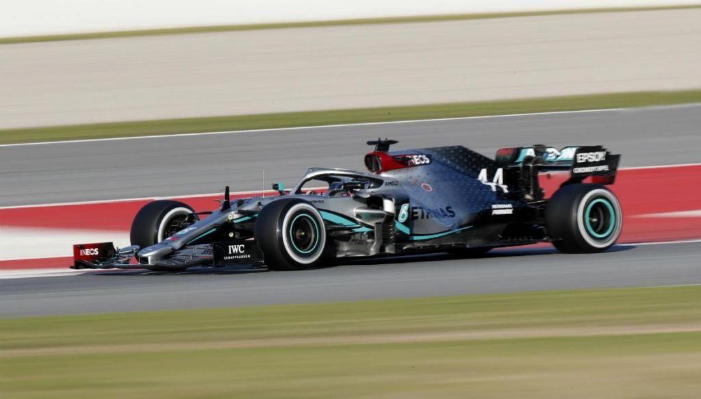 Mercedes W11 (Associated Press)