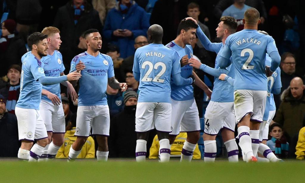 Manchester City-West Ham