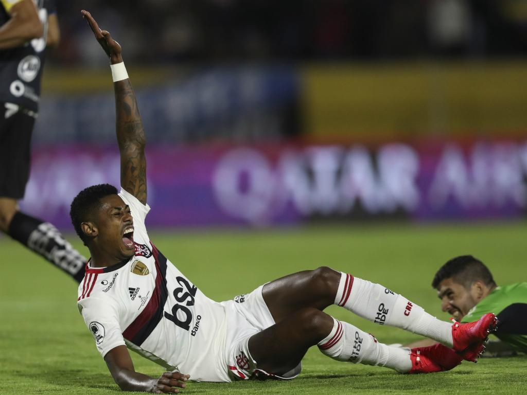 Bruno Henrique (AP Photo/Dolores Ochoa)