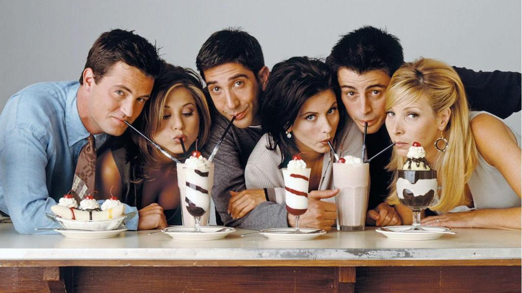 Elenco da série Friends