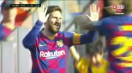 Aconteceu magia em Camp Nou: golaço de Messi
