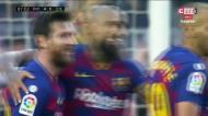 O póquer de Lionel Messi num regresso do argentino às tardes de sonho