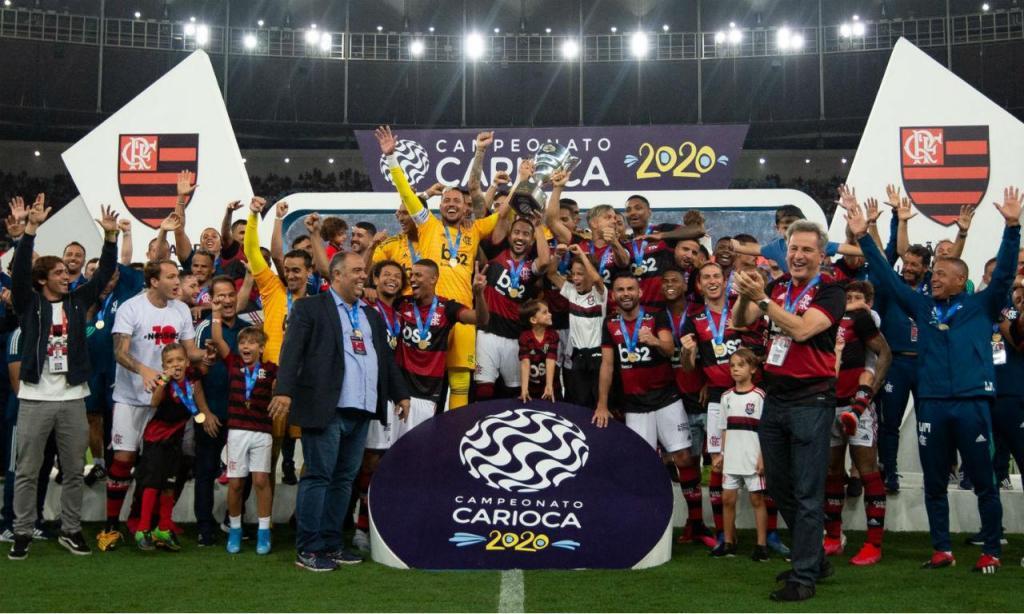 Flamengo vence Taça Guanabara (foto: twitter Flamengo)