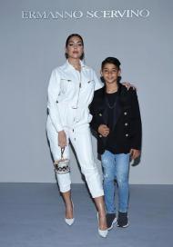 Georgina Rodriguez e Cristiano Júnior