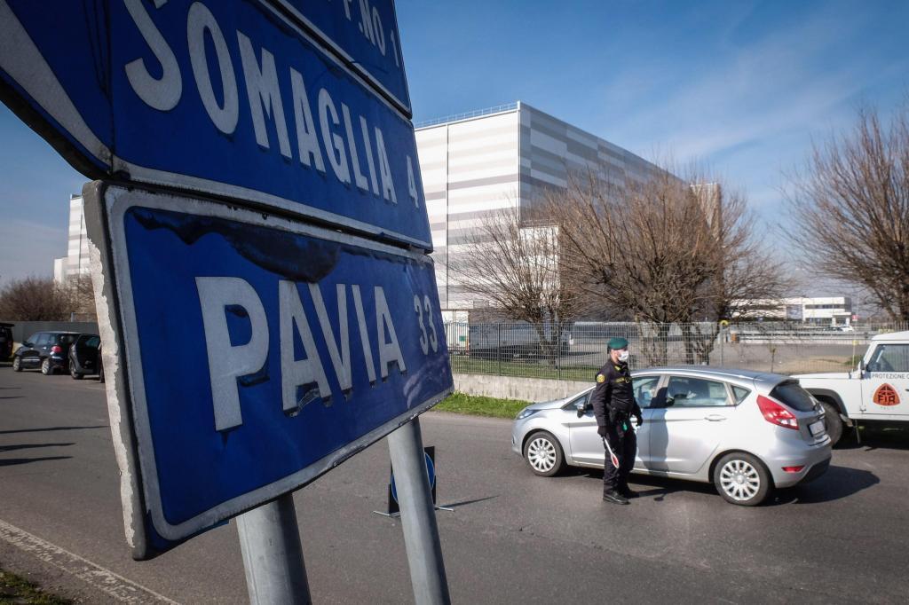 Surto de coronavírus em Itália