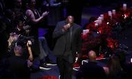 Última homenagem a Kobe Bryant