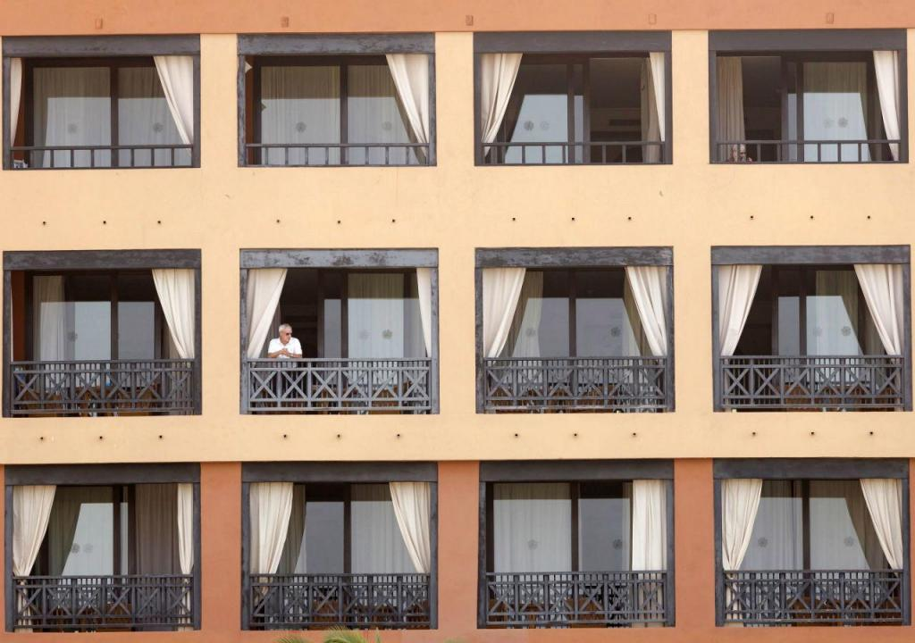 Hotel em quarentena nas ilhas Canárias