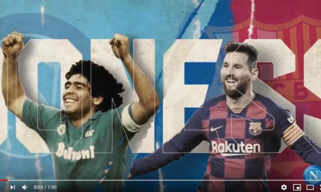 Maradona e Messi
