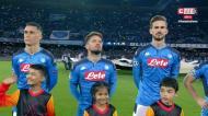 VÍDEO: momento arrepiante com os adeptos do Nápoles e o hino da Champions