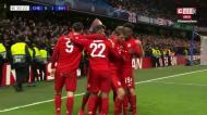 VÍDEO: grande jogada do Bayern e há golo em Londres